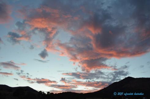 Red Dawn In Newark Valley